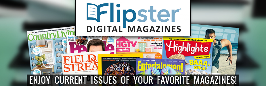 Enjoy current issues of your favorite magazines!